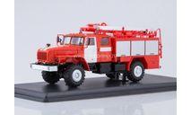 SSM. УРАЛ ПСА 2,0-40/2 (43206) Пожарная, масштабная модель, 1:43, 1/43, Start Scale Models (SSM)