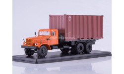 SSM. КРАЗ-257Б1 контейнер, масштабная модель, 1:43, 1/43, Start Scale Models (SSM)