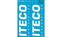 Декаль ITECO. Размер А6, запчасти для масштабных моделей, 1:43, 1/43, maksiprof