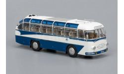 ClassicBus. ЛАЗ 697Е Турист (1961-1963), бело-синий, масштабная модель, 1:43, 1/43