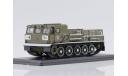 SSM. Артиллерийский гусеничный тягач АТС-59Г, парадный, масштабная модель, 1:43, 1/43, Start Scale Models (SSM)