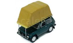 IST. Нива ВАЗ-2121 с палаткой, масштабная модель, IST Models, scale43