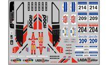 Декаль. Lada Poch Спорт, фототравление, декали, краски, материалы, 1:43, 1/43, maksiprof, ВАЗ