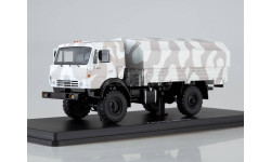 SSM. КАМАЗ-43502 Мустанг камуфляж Арктика, масштабная модель, 1:43, 1/43, Start Scale Models (SSM), Skoda
