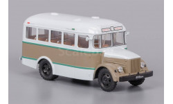 ClassicBus. КАВЗ-651 бежево-коричневый, масштабная модель, 1:43, 1/43, ПАЗ
