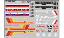 Декаль МАЗ (полосы, надписи, логотипы). DKM0401, фототравление, декали, краски, материалы, maksiprof, scale43