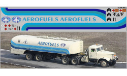 Декаль. Набор декалей Аэропорты (полосы, надписи, логотипы), вариант 13 (200х60). DKP0071