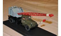 SSM. Маз-200 Кран К-51, масштабная модель, 1:43, 1/43, Start Scale Models (SSM)