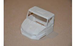 Кабина Зил-5301 Бычок, запчасти для масштабных моделей, 1:43, 1/43, maksiprof