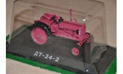 Тракторы - история, люди, машины №31 ДТ-24-2, масштабная модель трактора, 1:43, 1/43, Тракторы. История, люди, машины. (Hachette collections)