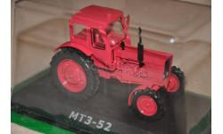 Тракторы - история, люди, машины №33 МТЗ-52, масштабная модель трактора, Тракторы. История, люди, машины. (Hachette collections), scale43