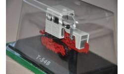 Тракторы - история, люди, машины №16 Т-54В, масштабная модель трактора, 1:43, 1/43, Тракторы. История, люди, машины. (Hachette collections)