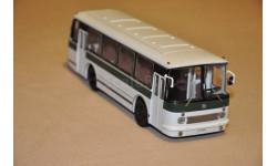 СовА. ЛАЗ-695Р бело-зеленый, масштабная модель, Советский Автобус, scale43