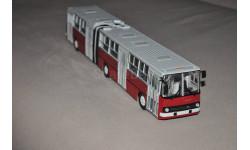 СовА. Икарус-280.33 Ikarus красно-белый, масштабная модель, 1:43, 1/43, Советский Автобус