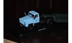 Dip Models. ГАЗ 52-06 с прицепом для перевозки сыпучих грузов г.Черкесск (1984), голубой / зеленый