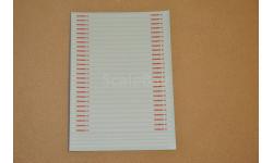 Декаль. Полосы для пожарных автомобилей, фототравление, декали, краски, материалы, maksiprof, scale43