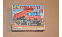 Авто в деталях. Кит Tatra 815S3 самосвал. SSM., сборная модель автомобиля, 1:43, 1/43, AVD Models