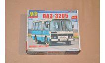 AVD. ПАЗ-3205 пригородный. SSM 4040AVD, сборная модель автомобиля, AVD Models, scale43