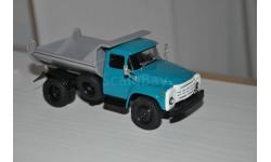 Наши грузовики. ЗИЛ-ММЗ-555 зелёный/серый №3, масштабная модель, 1:43, 1/43