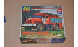 Авто в деталях. Кит Пожарно-спасательный автомобиль ПСА-2 (4320). SSM