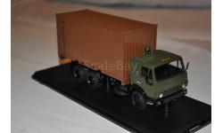SSM.  КАМАЗ-53212 с 20-футовым контейнером