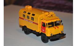 АИСТ. Кунг Газ-66 К-66 аварийная служба, масштабная модель, 1:43, 1/43, Автоистория (АИСТ)