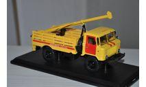 SSM. Бурильная машина БМ-302 (66), Аварийная служба ГАЗ-66, масштабная модель, 1:43, 1/43, Start Scale Models (SSM)