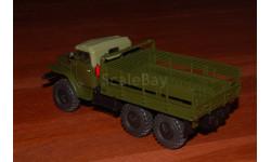 АИСТ. УРАЛ-375 (тентованная кабина) бортовой, хаки