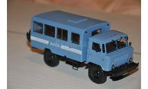 АИСТ. Вахтовый автобус НЗАС-3964 (66) ГАЗ-66, масштабная модель, scale43, Автоистория (АИСТ)