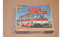 Авто в деталях. Кит Ликинский автобус 5256. SSM 4026AVD, сборная модель автомобиля, 1:43, 1/43, AVD Models, ЛАЗ