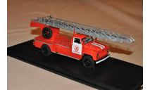 SSM. Пожарная автолестница АЛ-18 (52) Газ -52, масштабная модель, 1:43, 1/43, Start Scale Models (SSM)