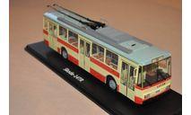 SSM. Троллейбус Skoda-14TR (красно-бежевый), масштабная модель, 1:43, 1/43, Start Scale Models (SSM), Škoda