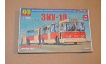 Авто в деталях. Кит ЗиУ-10 (ЗиУ-683) троллейбус. SSM AVD 4024AVD, сборная модель автомобиля, 1:43, 1/43, AVD Models