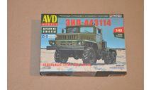 Авто в деталях. Кит ЗИЛ-443114 седельный тягач. SSM AVD 1462AVD, сборная модель автомобиля, 1:43, 1/43, AVD Models