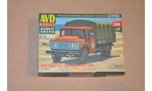 Авто в деталях. Кит Бортовой автомобиль ЗИЛ-130Г. SSM AVD 1451AVD, сборная модель автомобиля, scale43, AVD Models