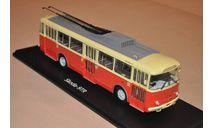 SSM. Троллейбус Skoda-9TR (красно-бежевый), масштабная модель, 1:43, 1/43, Start Scale Models (SSM), Škoda