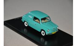 Dip Models. ЗАЗ 965С 'Связь' (1962), морская волна, масштабная модель, 1:43, 1/43