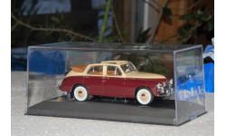 ГАЗ М20 'Победа' Кабриолет 1950 Бежевый/Вишневый, масштабная модель, 1:43, 1/43, WhiteBox