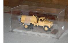 Dip Models. ГАЗ-53 АНМ-53А Ассенизаторная машина (1977 г.), бежевый, масштабная модель, 1:43, 1/43