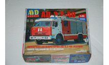 Авто в деталях. Кит АЦ-3,2-40 (43253). SSM, сборная модель автомобиля, scale43, AVD Models, КамАЗ