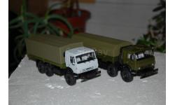 ПАО КАМАЗ. КАМАЗ-53501 6x6 и КАМАЗ-6350