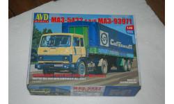 AVD. МАЗ-5432 с полуприцепом МАЗ-93971. SSM, сборная модель автомобиля, scale43, Автомобиль в деталях (by SSM)