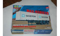 AVD. Полуприцеп-контейнеровоз МАЗ-938920. SSM