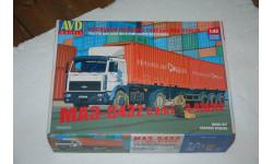 AVD. МАЗ-5432 с полуприцепом-контейнеровозом МАЗ-938920. SSM