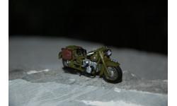 Dip Models. ММЗ М-72 1941 г. мотоцикл, масштабная модель мотоцикла, 1:43, 1/43