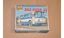 AVD. ЛАЗ-695Н. SSM 4029AVD, сборная модель автомобиля, 1:43, 1/43, AVD Models
