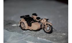 Dip Models. ИМЗ М-72 1955 г. мотоцикл с коляской