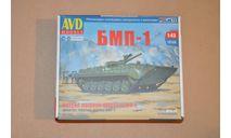 Авто в деталях. Кит Боевая машина пехоты БМП-1. SSM AVD 3017AVD, сборная модель автомобиля, 1:43, 1/43, AVD Models
