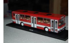ClassicBus. ЛИАЗ-5256 (красный, с белой полосой), масштабная модель, 1:43, 1/43