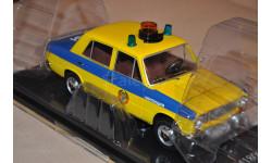 V.M.M.ВАЗ-2101 'Жигули' ГАИ Милиция 1982 (из к/ф 'Инспектор ГАИ') желтый с синим